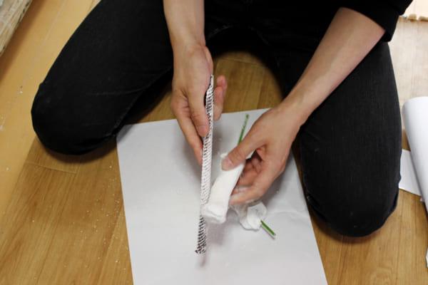 石膏も手で削って作ったほうが早く確実。今までの経験によるもの