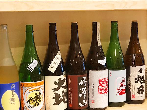 燗酒には火入れしたものより生酒が良いそうです。渡部さんのおおすすめは川西屋酒造の「隆」