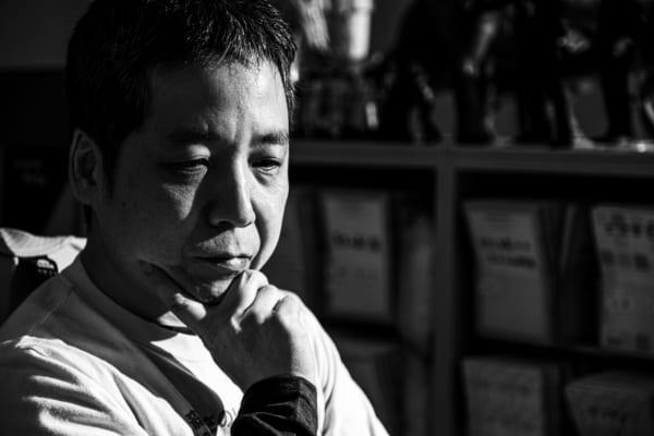 森田氏いわく、「ここまで自分のことをしゃべったのは、はじめてです(笑)」(撮影/タカハシアキラ)