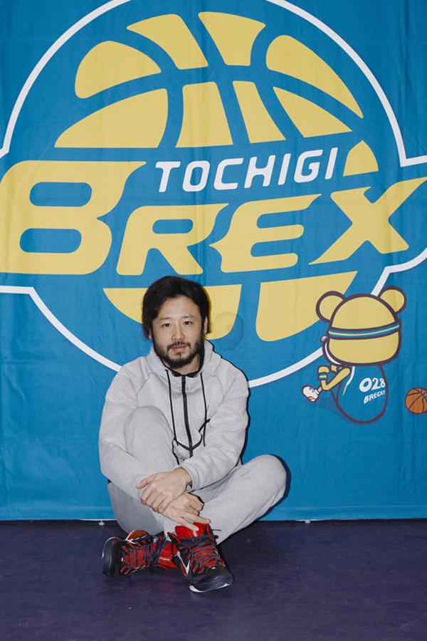 彼の存在もあり、栃木ブレックスは地元を大いに盛り上げている。(撮影/熊谷貫)