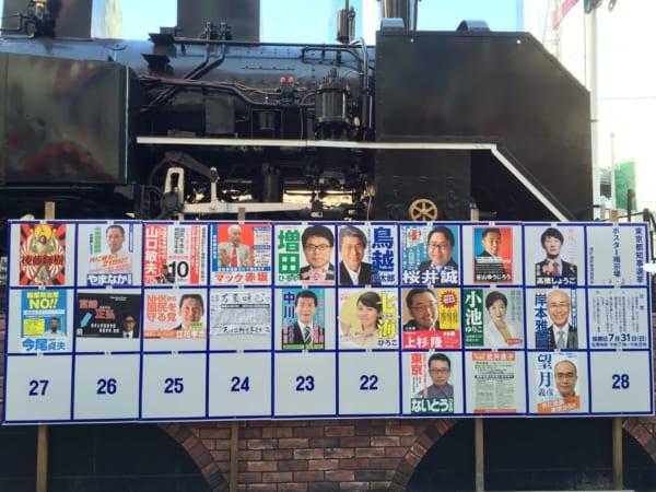 2016年7月の東京都知事選選挙。立候補者数21名と、その政策内容を覚えていますか?(撮影/畠山理仁)