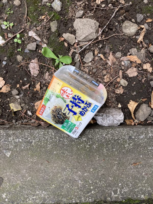 都内で発見した「宝探し」の宝物かもしれない落とし物、その5。(写真/ダーシマ)