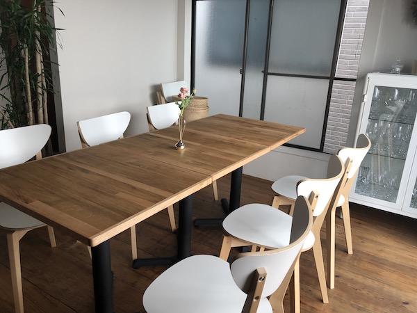 2Fの個室スペースも素敵!