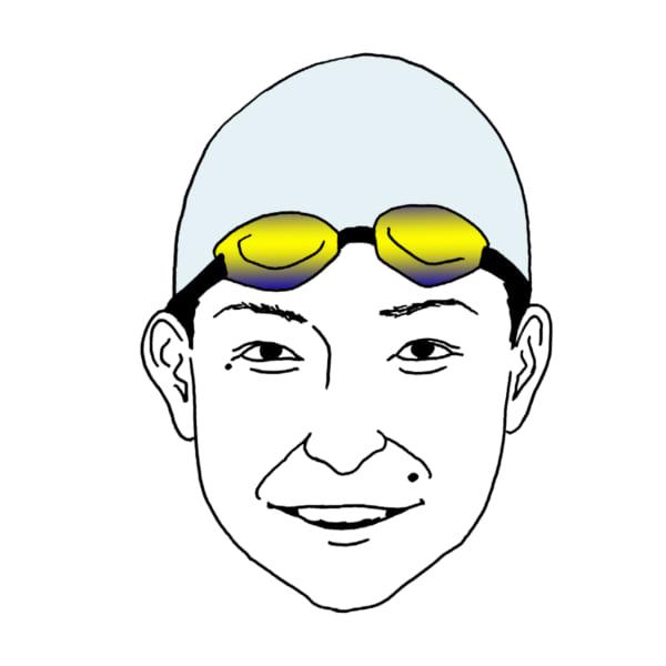 競技中ですら愛らしいキュートな表情も池江の大きなチャームポイントだ