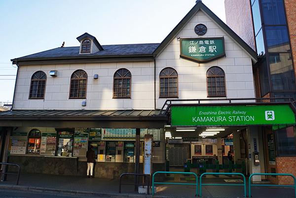 東口とはうって変わって、ノスタルジックな雰囲気が漂う鎌倉駅西口
