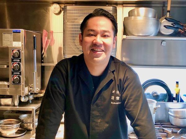 「活惚れ」「オ山ノ活惚レ」を営む松永大輝さんはお料理だけでなく心配りも素晴らしい!