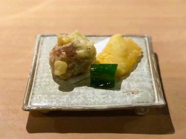 もうひとつは安定の「とうもろこしの天ぷら」