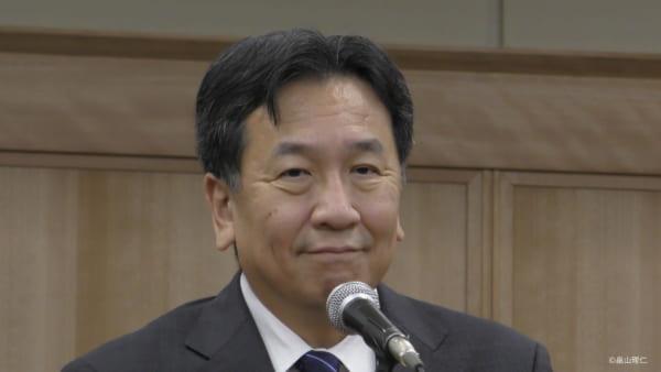 大きなチャンスを逸した野党の立憲民主党。枝野代表は今後、与党を脅かす党を作れるか。(撮影/畠山理仁)