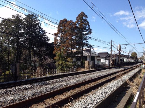 昔から変わらない、のんびりした雰囲気の北鎌倉駅。