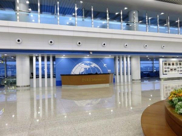 ガラス張りの平壌国際空港  画像:PIXTA