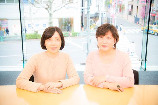浜田敬子さん×中島京子さん ★写真クリックで対談ページへリンクします