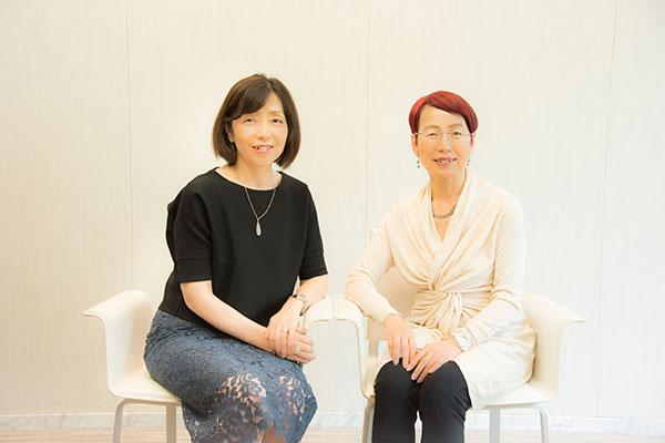 浜田敬子さん×上野千鶴子さん ★写真クリックで対談ページへリンクします