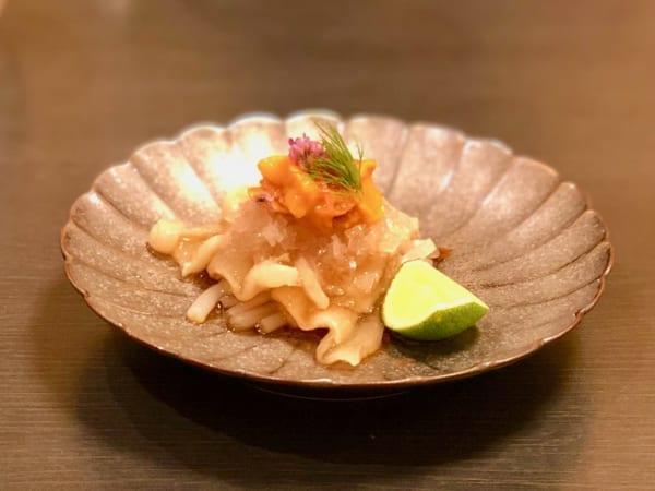 この「冷拌勾翅」で湯浅さんの料理の虜になりました