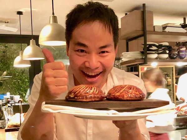 シンシアでは石井さんが厨房から出てきてくれるので話が聞ける楽しさが増えました
