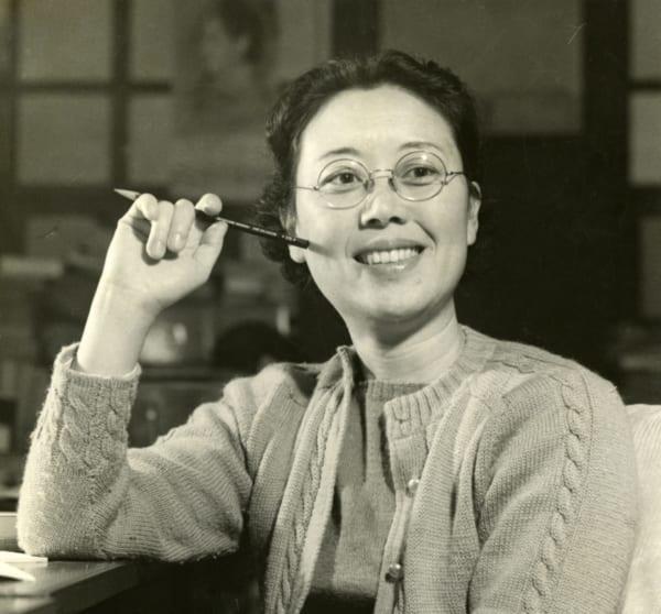 1953年頃の石井桃子(写真提供/(公財)東京子ども図書館)