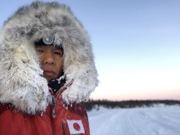 徐々にメンタルが蝕まれる中、雪の大地を自分の力だけで進む。(写真提供/北田雄夫)