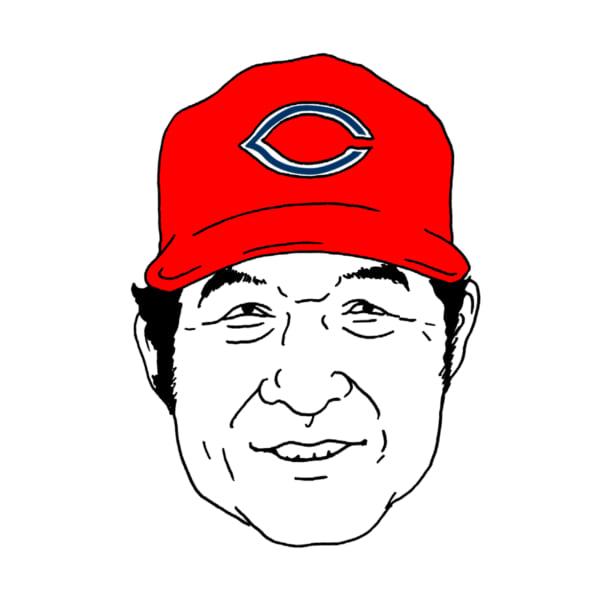 「カープにいそうな顔」ではなく、名実ともに「カープの顔」である