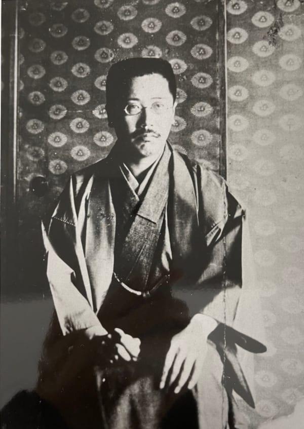 漱石の門下生だった頃の森田草平(写真提供/日本近代文学館)