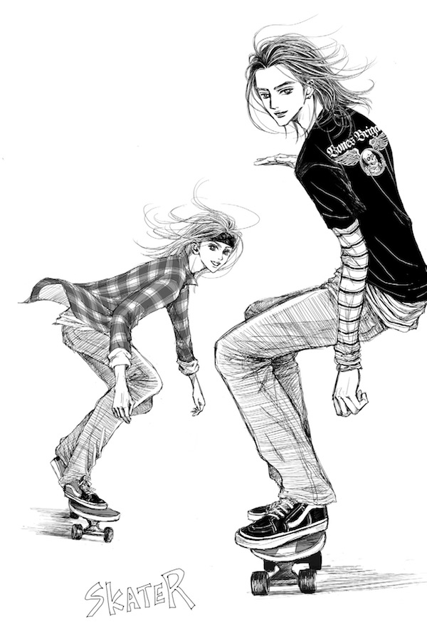 『ストリート・トラッド〜メンズファッションは温故知新』より。©︎矢沢漫画制作所/集英社